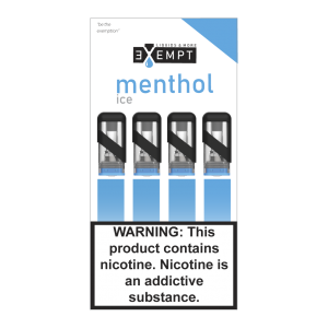 Remit Menthol Ice Nic Salt Pod Packs (Pack of 4)