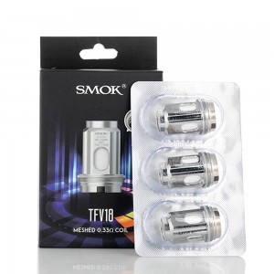 SMOK TFV18 Replacement Coils (3pcs)